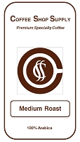 Coffee Shop Supply - Medium Roast - 5 Pound Bag