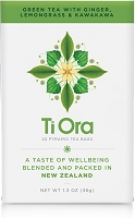 Ti Ora - Green Tea with Ginger, Lemongrass & Kawakawa